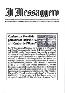 Il Messaggero, 22 June 2005
