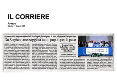 Corriere di Arezzo, 11 June 2005