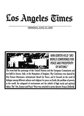 Los Angeles Times, 27 June 2005
