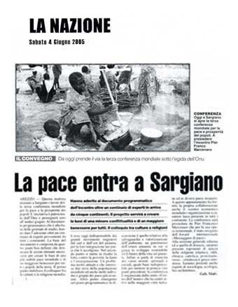 La Nazione, 4 June 2005