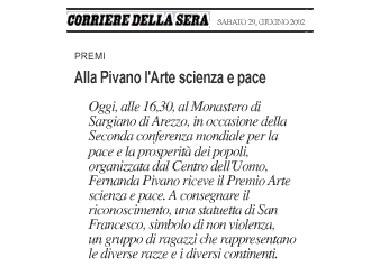 Il Corriere della Sera, 29 June 2002