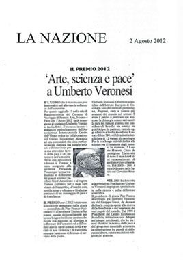 La Nazione, 2 August 2012