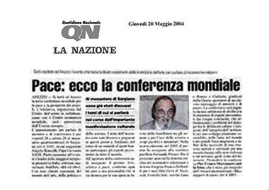 La Nazione, 20 May 2004