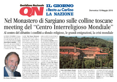 Quotidiano Nazionale, 15 May 2016